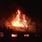 oamenii din targoviste atentionati prin ro-alert in timpul incendiului de joi
