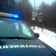 video zece turisti blocati cu masinile in zona cabanei susai de pe valea azugii