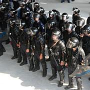 jandarmii gruparii mobile mobilizati pentru meciul petrolul - flamurtari
