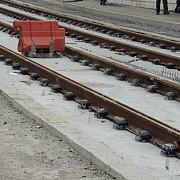 ritm sustinut la lucrarile de pe tronsonul ii al liniei de tramvai 102
