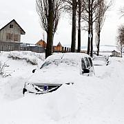 trafic restrictionat pentru autovehiculele de mare tonaj pe mai multe drumuri din bulgaria la granita cu romania din cauza viscolului