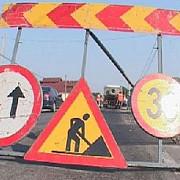 restrictii de circulatie la intersectia strazilor romana cu george cosbuc