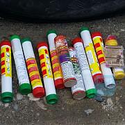 politistii au confiscat peste 15 tone de artificii si au dat 113 amenzi
