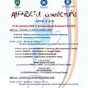 festivalul alfabetul convietuirii se va desfasura in perioada 21-23 septembrie la ploiesti