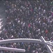 mii de angajati google din toata lumea au oprit lucrul si au iesit din birouri in semn de protest