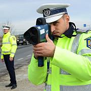 ampla operatiune a politiei pana duminica pentru depistarea soferilor care depasesc viteza legala