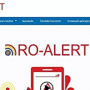 incep testele aplicatiei ro-alert