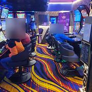 jandarmii au gasit o sala de jocuri deschisa la sinaia