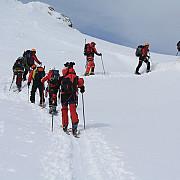operatiune de salvare in muntii bucegi