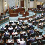 senatul a inceput sedinta in care se voteaza cererile de arestare ale lui dan sova si darius valcov