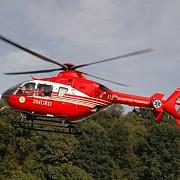 o femeie din comuna gorgota si-a dat foc a fost preluata de un elicopter smurd