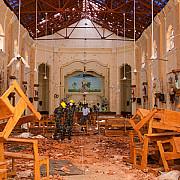 o noua bomba a explodat luni langa o biserica din colombo sri lanka