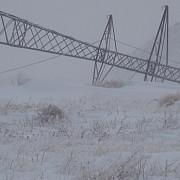 electrica peste 370 de stalpi au fost rupti din cauza conditiilor meteo nefavorabile din ultimele zile