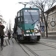 primul tramvai intra in probe pe traseu pe linia 101