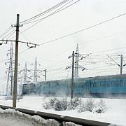 37 de trenuri de calatori anulate luni din cauza conditiilor meteo