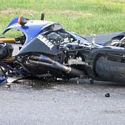 accident grav in capitala un motociclist si-a pierdut viata