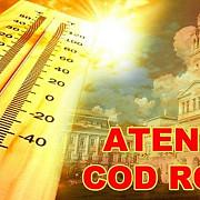 cod rosu de canicula in romania temperaturile vor fi intre 39 si 42 de grade