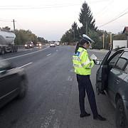 razie a politiei rutiere pe dn 1b in prahova