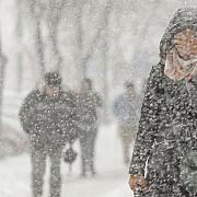 avertizare meteo vreme rea in toata tara pana duminica la munte va ninge abundent