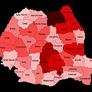 zonele rosii din romania orasele si judetele care pot intra in carantina