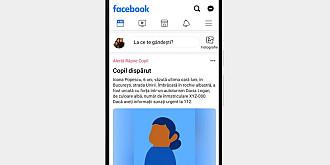 facebook implementeaza si in romania instrumentul alerta rapire copil