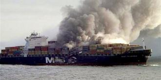 flaminia a parasit portul constanta dar se intoarce pentru reparatii