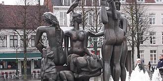 povestea statuilor de bronz din bruges au ajuns topite si vandute la fier vechi de o grupare de hoti din romania