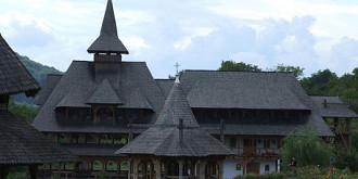 manastirea barsana din maramures cea mai mare biserica de lemn