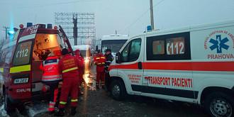 accident in lant cu 15 victime in prahova