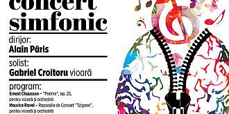 concert simfonic sub bagheta dirijorului francez alain paris la filarmonica