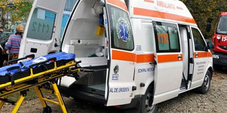 ambulanta implicata intr-un accident in ploiesti