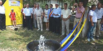comuna tomsani are in sfarsit alimentare cu apa