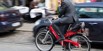 primul oras din romania in care bicicleta este mijloc de transport in comun