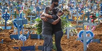 covid-19 continua sa faca ravagii in brazilia care depaseste italia la numarul de decese