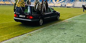 video foto ultimele aplauze pentru marcel catinca pe stadionul ilie oana din ploiesti