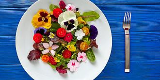 iata ce flori sunt comestibile
