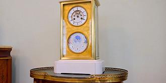 un ceas care a apartinut domnitorului cuza si lui gheorghe bratianu se afla la ploiesti
