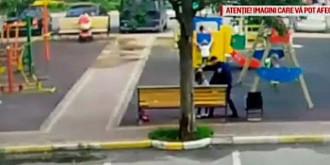 femeie omorata in bataie la un loc de joaca sub ochii copiilor nimeni nu a intervenit