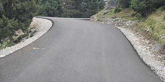 sosea asfaltata din fonduri private intre busteni si valea doftanei