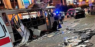 explozie in rusia un om a murit si 18 au fost raniti