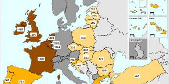 harta salariilor minime din europa
