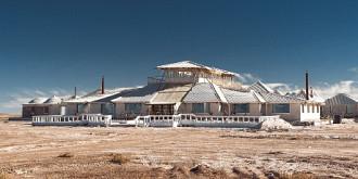 palacio de sal hotelul construit in totalitate din sare