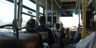 casier in autobuz
