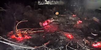 zeci de incendii de vegetatie uscata stinse in ultimele 24 de ore de pompierii prahoveni