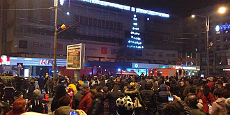 sute de mii de romani au intampinat anul nou in strada