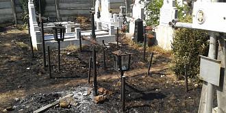 incendiu la cimitirul viisoara