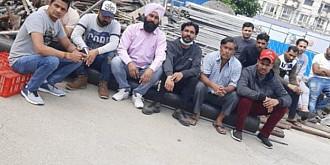 peste 40 de muncitori din india protesteaza pe santierul palatului justitiei din ploiesti