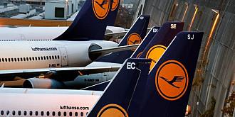 lufthansa anuleaza 1300 de curse aeriene din cauza grevei fiind afectati 180000 de pasageri