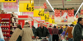 in decembrie s-au vandut alimente de 1 miliard de euro