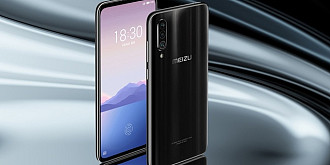 meizu 16xs ecran amoled senzor de amprenta in display si camera tripla la 220 euro
